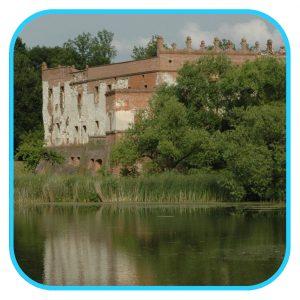 zamek w krupem